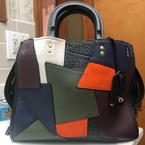 Coach Rogue 30 With Patchwork details